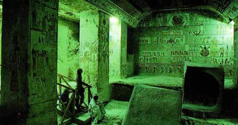The Burial Chamber in the Tomb of Ramesses VI