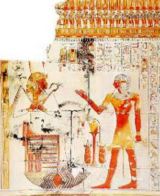 From the Temple of Seti I at Abydos