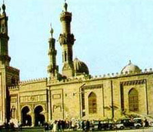 View of the Exterior of the Al-Azhar Mosque