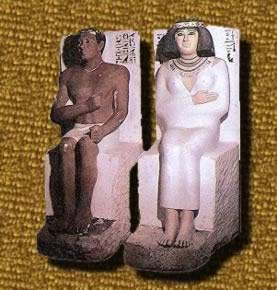 Rahotep and his wife