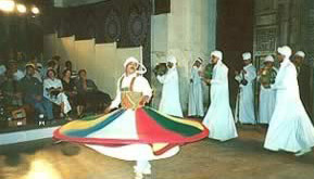 One of the most famous Tanoura groups in Egypt
