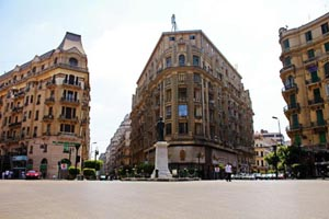 Midan Talaat Harb (Talaat Harb Square) in Downtown