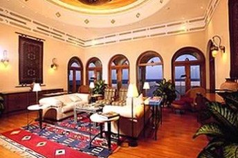 The Library of the Oberoi Sahl Hasheesh Hotel, Hurghada