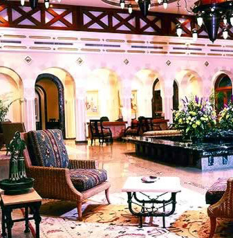 The Lobby in the Oberoi Sahl Hasheesh Hotel, Hurghada