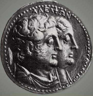 Ptolemy II and his wife and full sister, Arsinoe