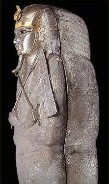 Silver Coffin of Psusennes I from the 21st Dynasty