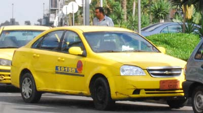 Picture of Yellow Taxi, It looks like New York cabs.