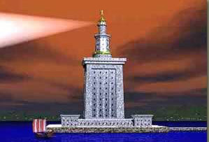 Pharos Lighthouse of Alexandria