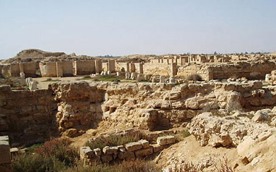 The ruins of Abu Mina today are rather extensive, and somewhat restored