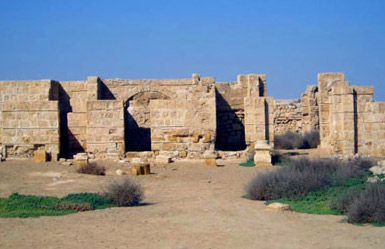 As can be seen, some parts of the ancient complex have been well restored