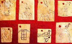 Clay seals from Abydos, Egypt