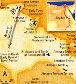Index for Abydos, Egypt