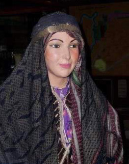 Display of Typical Syrian Female Dress