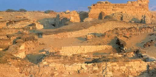 The Temple of Alexander the Great in the Bahariya Oasis