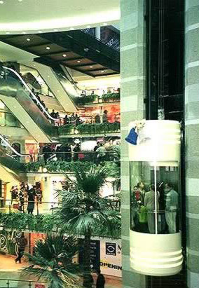 Arkadia Mall's interior design