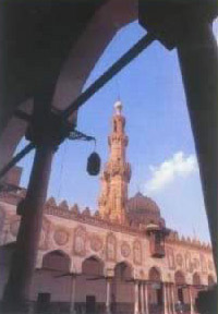 Another view of the Al Azhar Mosque in Cairo, Egypt