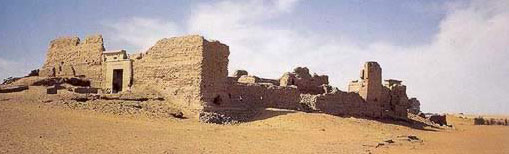 An overall view of the ruins at al-Zayyan