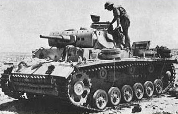 Panzer III in the Desert
