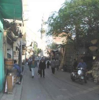 Al Darb al-Ahmar (the Red Street) in Cairo