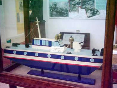 A gun boat designed by the Egyptians and used by the British during World War II