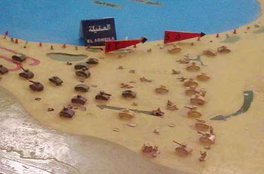 A Models of the Battle of Al-Agheila