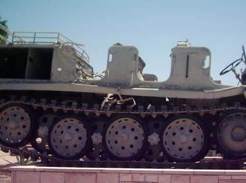 A German Gun Carrier