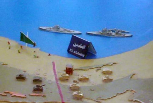Model of the Battle of Al-Alem