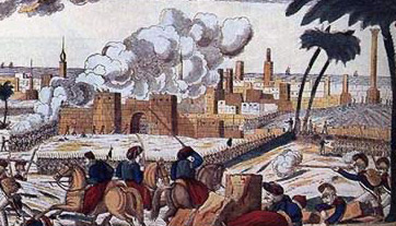 The Capture of Alexandria by Bonaparte's army in 1798