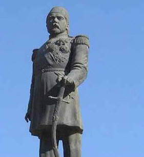 Statue of Khedive  Ismail in Alexandria