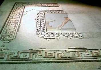 Mosaic floor from the Greek Period