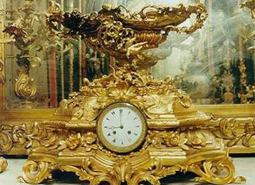 A French clock from the 19th C