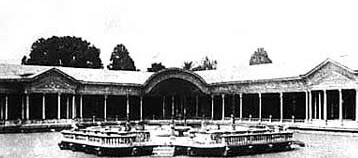 An older view of the pavillion
