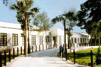 A view of the front of the palace of Muhammad Ali in Shubra