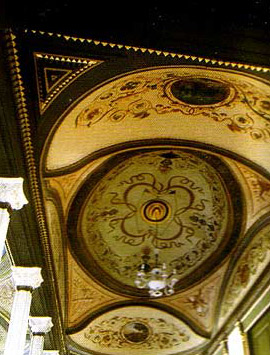 Another view of the ceilings