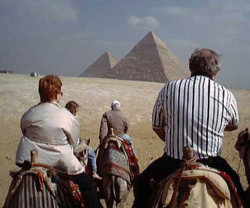 There are many different short tours to the Great Pyramids