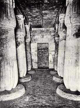 The Tomb of Ay, the next to last ruler of the 18th Dynasty, though this is not his royal tomb, was the largest private tomb at Amarna