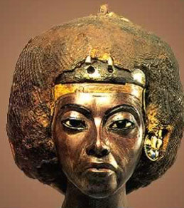 Queen Tiy (Tiye), Amenhotep III's chief Queen