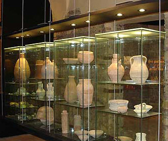 One of the displays within the palace