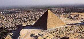 The  Great  Pyramid of Khufu in Egypt