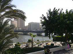 The Nile from Andalus Park