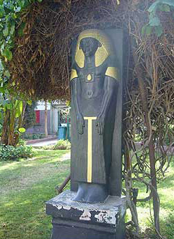 One of the many pharaonic replicas in the Gardens