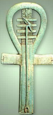 Covering all the bases with an ankh, djed and was-sceptre as an amulet