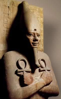 An Osiris Pillar of Senusret I from the 12th Dynasty