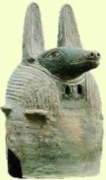 Anubis, God of Embalming and