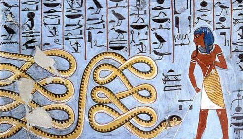 Apophis (Apep), the Enemy of Re