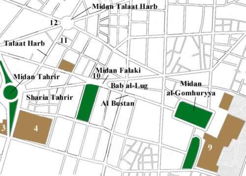 Map (2) of Downtown Cairo