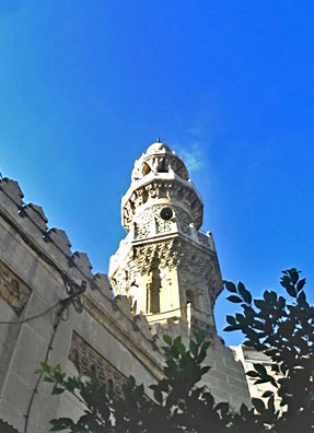 A view of the Attarine Mosque in Alexandria, Egypt