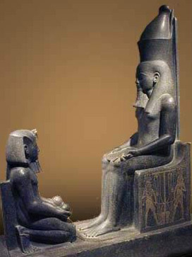 Horemheb and Atum