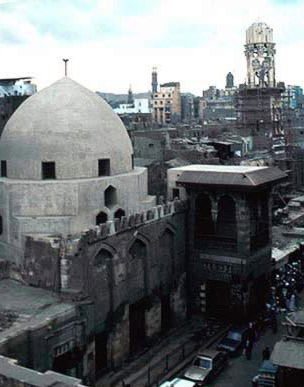 An Overall View of the Madrasa and Mausoleum of al-Salih Najm al-Din Ayyub