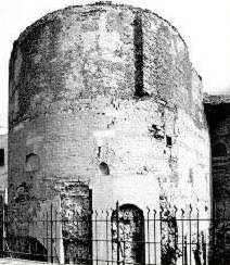 One of the towers of Fort Babylon